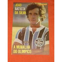 Pôster Placar Do Batista No Grêmio 1982