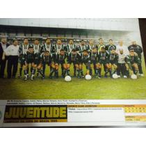 Poster Juventude Campeão Copa Do Brasil 1999 Placar 21x27 Cm