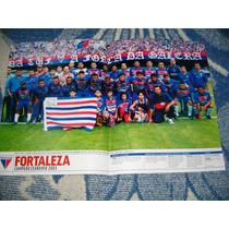 Poster Placar Fortaleza Campeão Cearense 2003