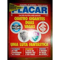 Revista Placar 1987 Pôster Corinthians Campeão 1977 Atletico
