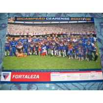 Poster Placar Fortaleza Campeão Cearense 2008