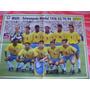 Poster Brasil Tetra E Palmeiras Tetra 1994 Placar Fret Grats