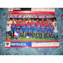 Poster Placar Fortaleza Campeão Cearense 2005