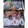 Poster Gigante Vasco Campeão Carioca 2003 Placar