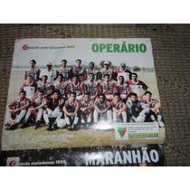 Poster Campeões 95 - Ferroviário Operário Chapadão Maranhão