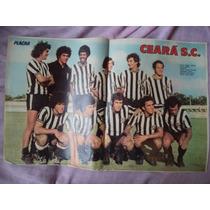 Poster Ceará Esporte Clube 1974 = Campeão Cearense