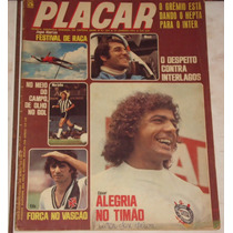 Revista Placar Nº 254 - Jan/1975 - Pôster Moto Clube Campeão