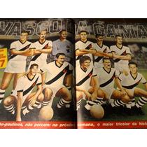 Revista Placar Com Poster Melhor Vasco De Todos Os Tempos