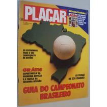 Revista Placar 1052 Guia Campeonato Brasileiro 1990