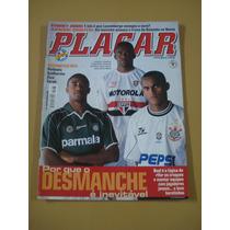 Revista Placar Petkovic Zico Farah Juninho Ano 2000 N°1168
