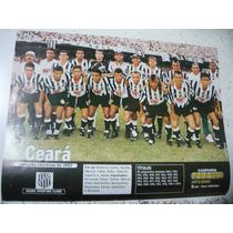 Miniposter Ceará Campeão Cearense 1997 Placar Frete Gratis