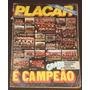 Revista Placar Nº 554 - Dez/1980 - Especial De Campeões