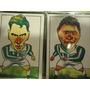 2 Cards Do Palmeiras Edmundo Roberto Carlos Frete Gratis
