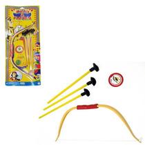 Kit Arco E Flecha Brinquedo Para Crianças