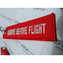 Chaveiro Remove Before Flight