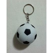 Kit De Chaveiro Bola De Futebol Com 12pçs Diversas Cores.