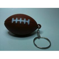 Chaveiro Bola De Futebol Americano Marron