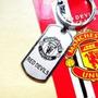 Chaveiro De Metal Time Futebol Manchester United + Brinde
