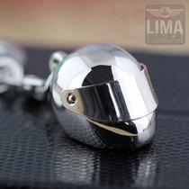 Chaveiro Capacete Moto Feito Em Metal Honda Yamaha Suzuki
