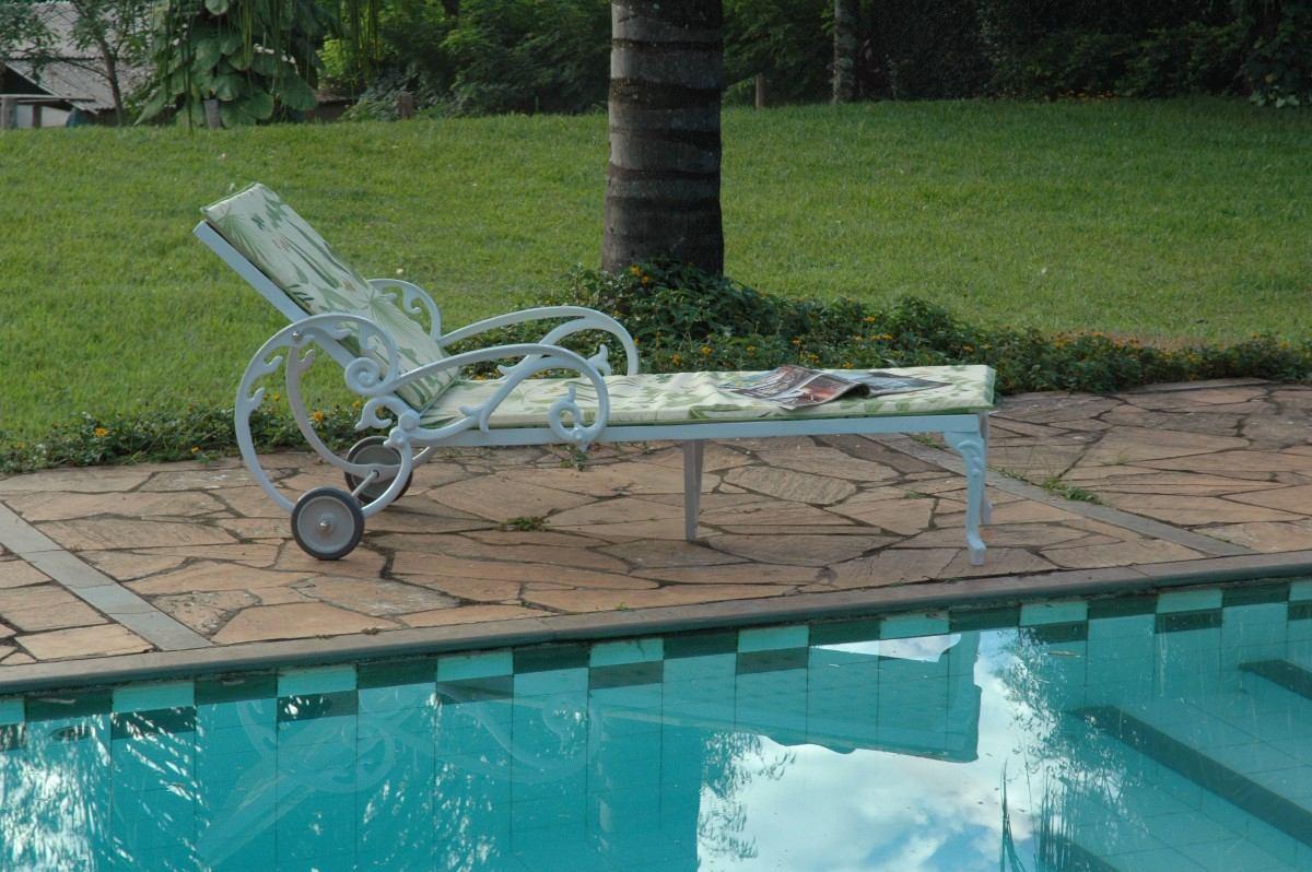 espregui adeira chaise piscina acapulco longa novo r no mercadolivre. Black Bedroom Furniture Sets. Home Design Ideas