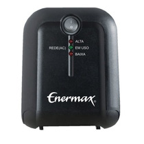 Estabilizador Power Exs Ii 1000va Bivolt Preto - Enermax