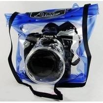 Capa Case Bolsa Estanque Câmeras Prova D