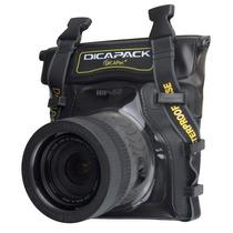 Capa Aquática Impermeável Dslr Nikon Canon Dicapac Wp-s5