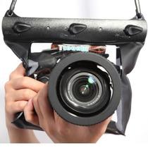 Bolsa Estanque P/ Câmera Profissional E Semi C/ Ajuste Zoom