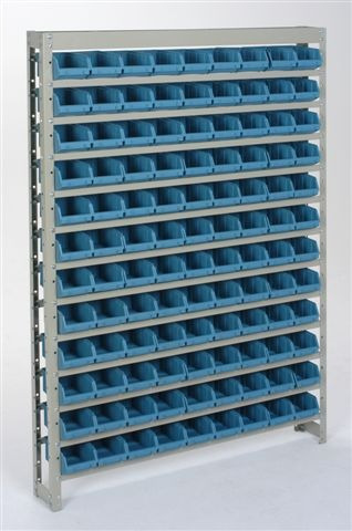 Estante Organizadora Gaveteiro C/108 Gavetas Nº 3 Azul