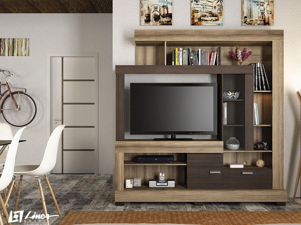 Estante para sala de tv modelo ac cia em at 12x s juros - Estante para televisor ...