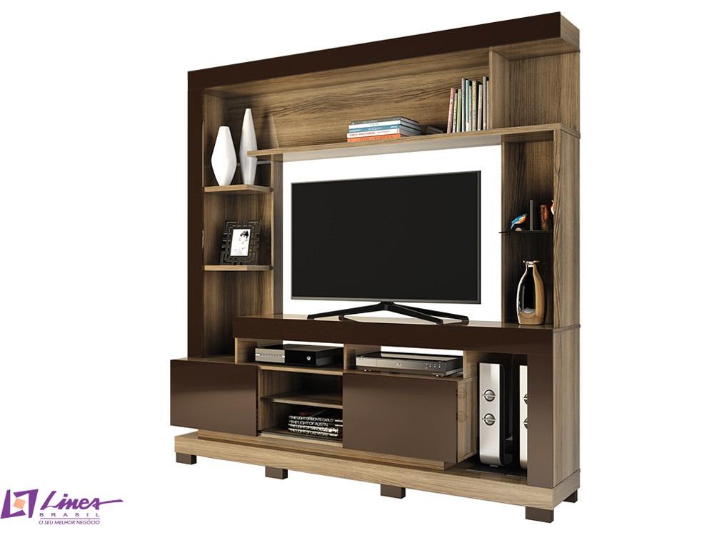 Estante para sala de tv modelo thal a em at 12x s juros for Modelos de modulares para sala