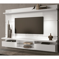 Painel Home Theater Suspenso Livin 2.2 Branco Hb Móveis