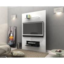 Rack Painel Para Tv Siena Branco- Mirarack - Compre Móveis