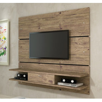 Painel Bancada Rack Suspensa Delta 1,81m P/ Tv 12x S,juros