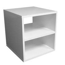 Criado Mudo Suspenso Branco 35x35x30 - 100% Mdf - Mv044