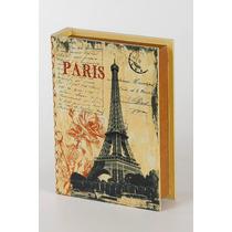 Caixa Decorativa - Caixa Livro - Porta Treco - Pequena