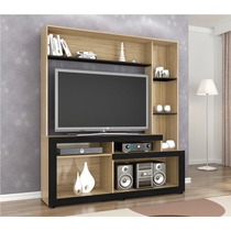 Home Theater Estante Bancada 1,39m Liz P/ Sala De Tv Benetil