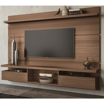 Painel Home Theater Suspenso Livin 2.2 Mocchiato Hb Móveis