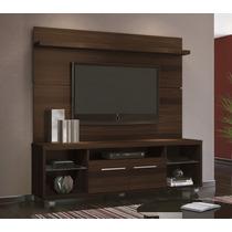 Rack Bancada Com Painel Personale Sala Tv Até 60 Mocaccino