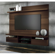 Painel Home Theater Suspenso Livin 1.8 Mocacino Hb Móveis