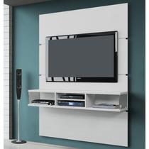 Estante Home Pegasus Painel Suspenso Tv Rack 1,36m Branco