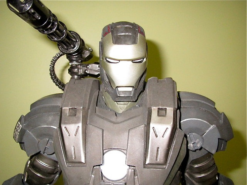 Estátua Do War Machine Maquette Sideshow !!!!!!!