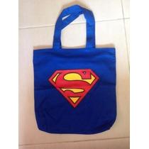 Bolsa Superman Grande Escolar Passeio