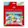 Lápis De Cor Aquarela Sextavado 48 Cores Faber Castell