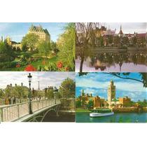 Cartão Postal Epicot Center Eua Tributo Aos Países - 9 Uni