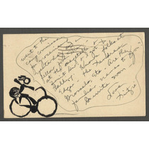 Bilhete Postal - Circulado Abilene Texas, Usa Ano 1943