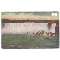 6537 Postal Antigo U. S. A. Niagara Falls Não Circulado