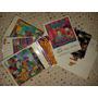 Lote Cartões Postais Adesivo Garfield C/ 5 Modelos