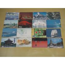 128 - Mega Lote C/50 Cartões Telefônicos - Japão