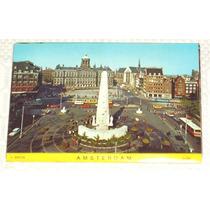 Cartão Postal Amsterdam Album Sanfona 8 Fotos Pfr6